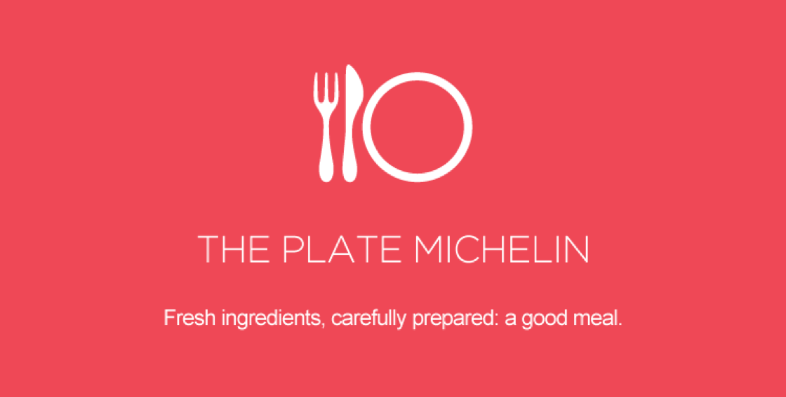Michelin plate